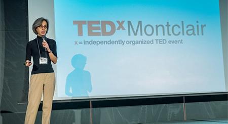 Deb at TEDxMontclair