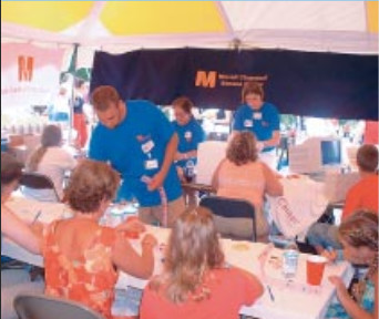 Twinsburg Research Tent