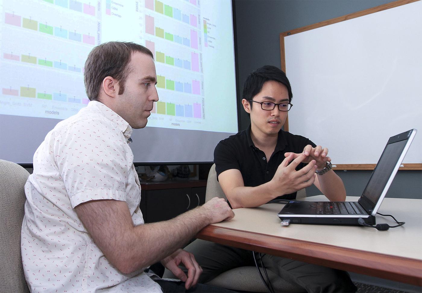 Dr. Joel Mainland and Dr. Yusuke Ihara